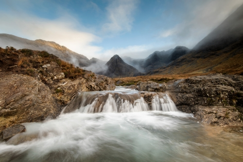 The Fairy Pools by Carmen Norman