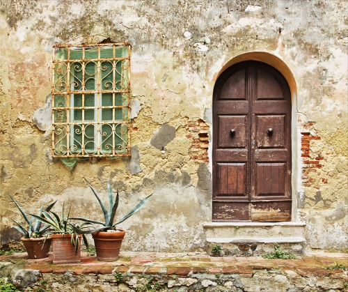 Decay in Tuscany by Tricia Rayment