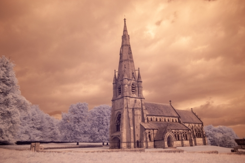 St Mary's Church Studley Royal by Tom Stenhouse