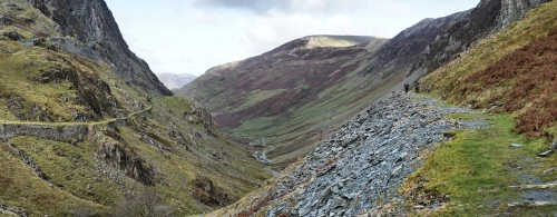Honister Pass by Gordon Train