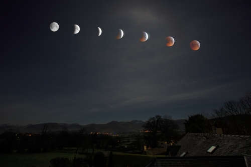 Evolving Blood Moon by Tom Stenhouse